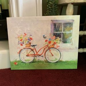 Bicycle Canvas Art from Hallmark